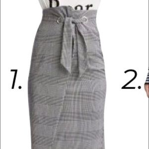 Fitted pencil skirt from H&M. New with tag